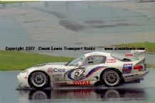Chrysler Viper GTS-R (Bell/Archer ) photo.Siverstone FIA GT 1997